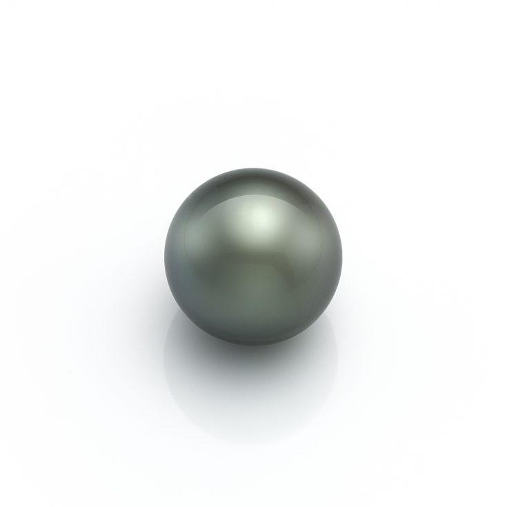 Perla redonda de Tahiti