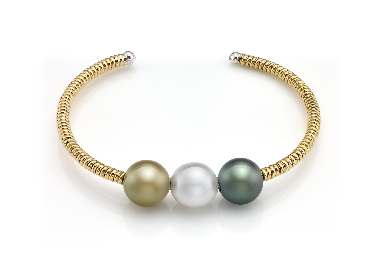 b25168b544cd Pulsera de oro de 18 ktes con perla australiana